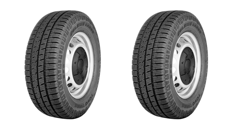 Toyo Tires Celsius Cargo Header
