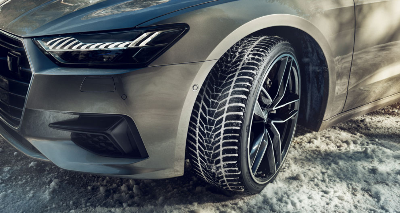 Hankook Winter UHP tire header
