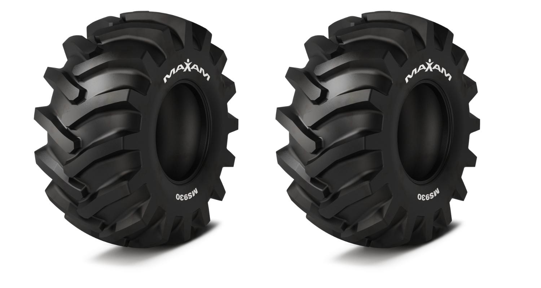 Maxam MS930 Forestry tire header