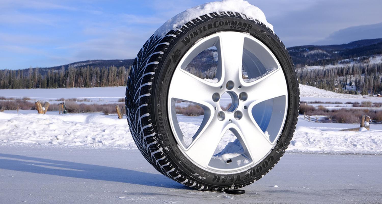 Goodyear WinterCommand Tire header