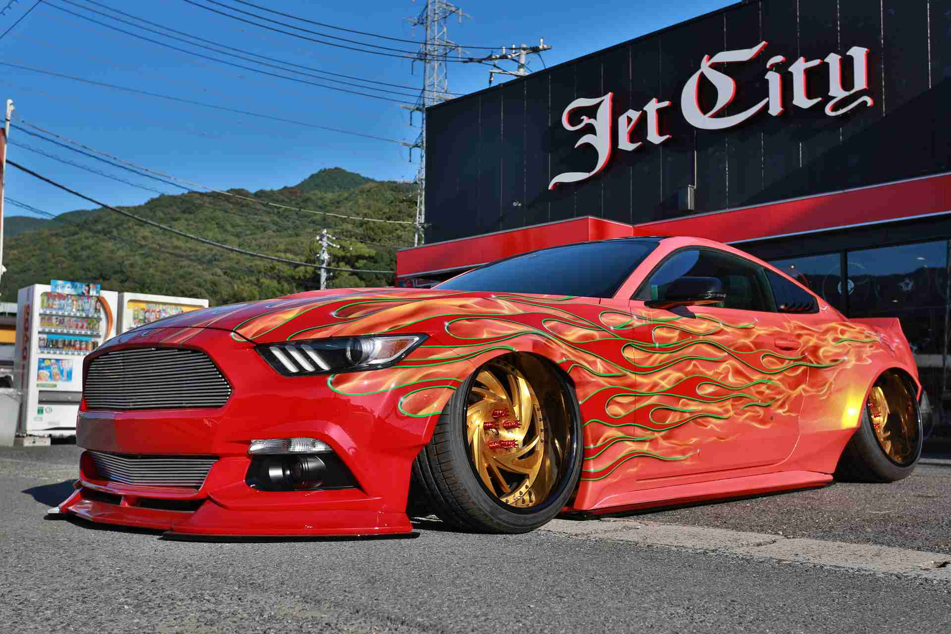 Jet City Co Ltd's 2017 Ford Mustang