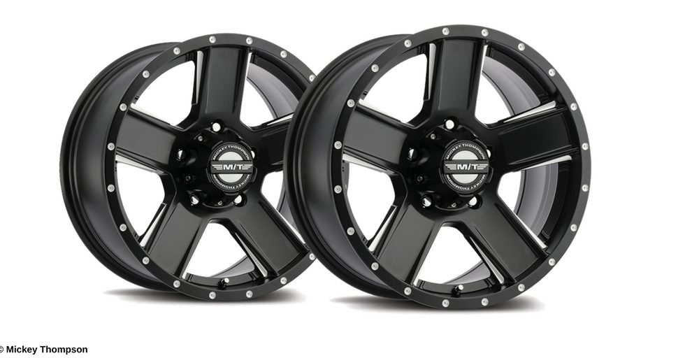 Mickey Thompson Introduces New SD-5 Black Wheel Line