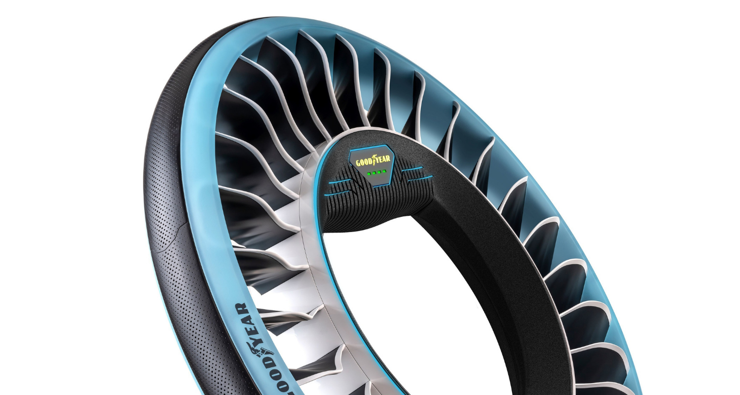 Goodyear Unveils New Concept Tire For Autonomous Flying Cars